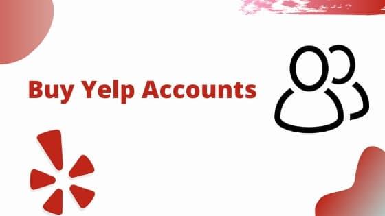 Buy Yelp Account
