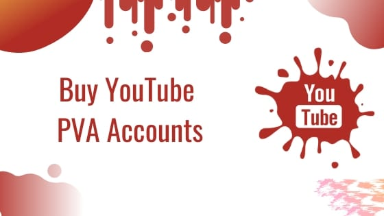 Buy YouTube PVA Account
